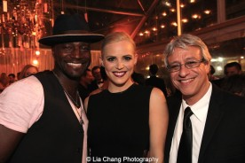 Taye Diggs, Katie Rose Clarke and Jeff Saver. Photo by Lia Chang