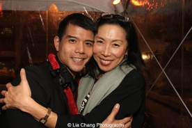 Telly Leung and Jodi Long. Photo by Lia Chang