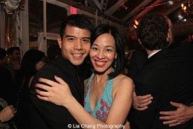 Telly Leung and Lia Chang. Photo by Garth Kravits
