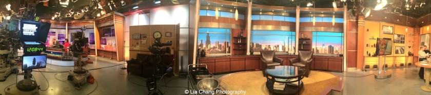 WGN Studios in Chicago on November 9, 2015. Photo by Lia Chang