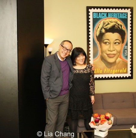Alan Muraoka and Ann Harada. Photo by Lia Chang
