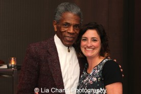 André De Shields and Anna Ables at the 27th Annual Awards for Excellence in the Arts Gala held in the Atlantic Ballroom of the Radisson Blue Aqua Hotel in Chicago on November 9, 2015. Photo by Lia Chang