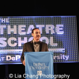 Theatre School student Christopher Jones at the 27th Annual Awards for Excellence in the Arts Gala held in the Atlantic Ballroom of the Radisson Blue Aqua Hotel in Chicago on November 9, 2015. Photo by Lia Chang