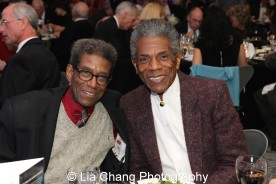Chuck Smith and André De Shields at the 27th Annual Awards for Excellence in the Arts Gala held in the Atlantic Ballroom of the Radisson Blue Aqua Hotel in Chicago on November 9, 2015. Photo by Lia Chang