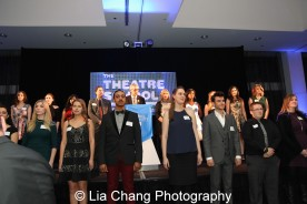 Theatre School students perform at the 27th Annual Awards for Excellence in the Arts Gala held in the Atlantic Ballroom of the Radisson Blue Aqua Hotel in Chicago on November 9, 2015. Photo by Lia Chang