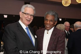 Theatre School Board Member Joseph Antunovich and André De Shields at the 27th Annual Awards for Excellence in the Arts Gala held in the Atlantic Ballroom of the Radisson Blue Aqua Hotel in Chicago on November 9, 2015. Photo by Lia Chang