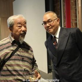 Bob Lee and Arlan Huang. Photo by Lia Chang