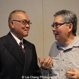 Arlan Huang and George Chew. Photo by Lia Chang