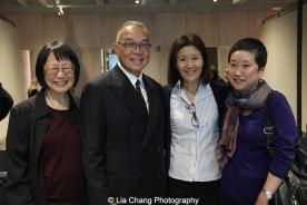 Lillian Huang, Arlan Huang, Kiyo Matshumoto and Marsha Tajima. Photo by Lia Chang