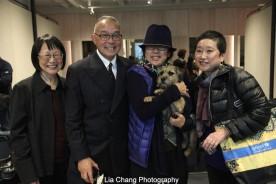 Lillian Huang, Arlan Huang, Pam Wu and Marsha Tajima. Photo by Lia Chang