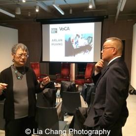 Margo Machida and Arlan Huang. Photo by Lia Chang