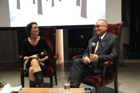 Beth Krebs and Arlan Huang. Photo by Lia Chang