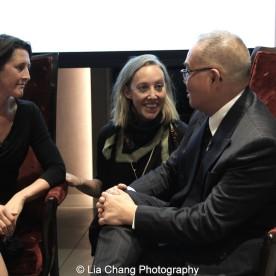 Beth Krebs, Lauren Shadford Breismeister and Arlan Huang. Photo by Lia Chang