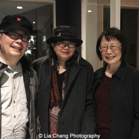 George Chew, Marilynn K. Yee and Lillian Huang. Photo by Lia Chang