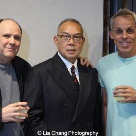 Kevin Scanlan, Arlan Huang and John Brekke. Photo by Lia Chang