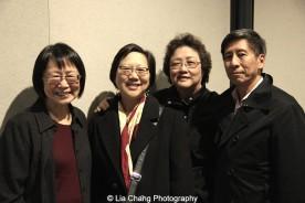 Lillian Huang, Barbara Ho, Susan Chong Wong and Arthur Soong. Photo by Lia Chang