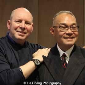Steven Barall and Arlan Huang. Photo by Lia Chang