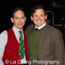 Garth Kravits and Tim Walling, Associate General Manager of Bucks County Playhouse at the theater in New Hope, PA on December 16, 2015. Photo by Lia Chang