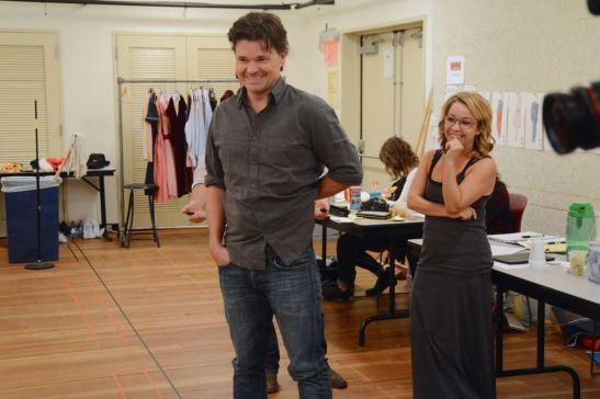 Hunter Foster and Jennifer Cody. Photo by Mandee Kuenzle
