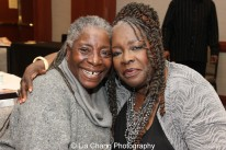 Deborah Johnson and her sister Ebony Jo-Ann. Photo by Lia Chang
