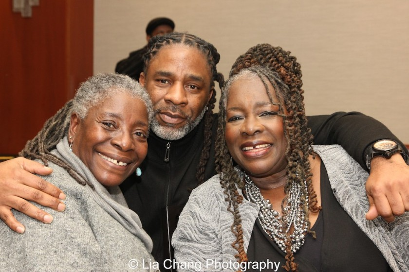 Deborah Johnson, her nephew Kenneth Fagan and his mother Ebony Jo-Ann. Photo by Lia Chang