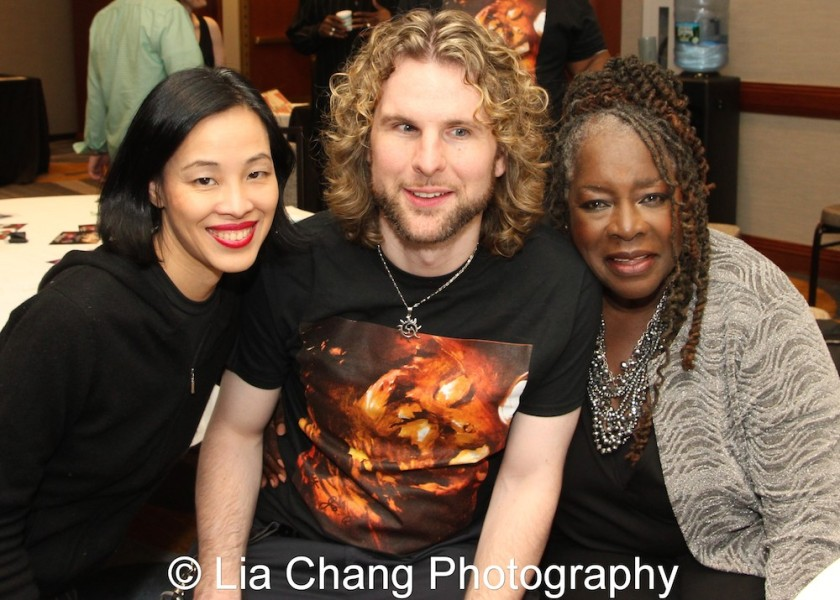 Lia Chang, Danny Kean and Ebony Jo-Ann. Photo by Garth Kravits