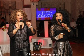 Alfa Anderson and Norma Jean Wright. Photo by Lia Chang