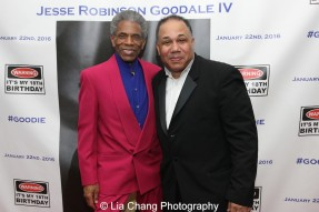 André De Shields and David Alan Bunn. Photo by Lia Chang