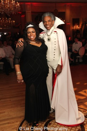 Dhonna Goodale and André De Shields. Photo by Lia Chang