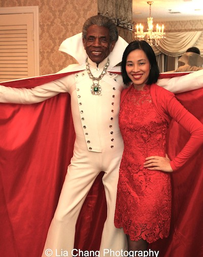 André De Shields and Lia Chang. Photo by David Alan Bunn