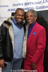 Chaz Shepherd and André De Shields. Photo by Lia Chang