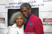 Emme Camp and André De Shields. Photo by Lia Chang