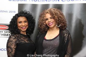 Norma Jean Wright and Alfa Anderson. Photo by Lia Chang