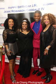 Norma Jean Wright, Dhonna Goodale, André De Shields and Alfa Anderson. Photo by Lia Chang