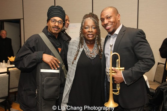 Chulo Gatewood, Ebony Jo-Ann and Kenyatta Beasley. Photo by Lia Chang