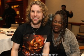Producer Danny Kean and Ebony Jo-Ann. Photo by Lia Chang