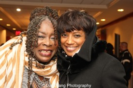 Ebony Jo-Ann and Marva Hicks. Photo by Lia Chang