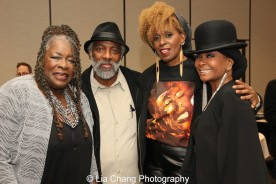 Ebony Jo-Ann, Cedric Rose, Aziza Miller and Vivian Sessoms. Photo by Lia Chang