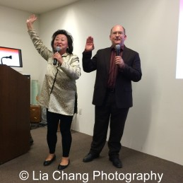 Joanna C. Lee and Ken Smith at the Museum of Chinese in America on January 30, 2016. Photo by Lia Chang