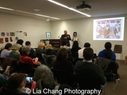 A full house for Ken Smith and Joanna C. Lee's talk on decoding the Year of the Monkey at the Museum of Chinese in America on January 30, 2016. Photo by Lia Chang