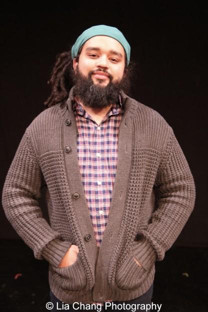 Playwright Nathan Alan Davis. Photo by Lia Chang