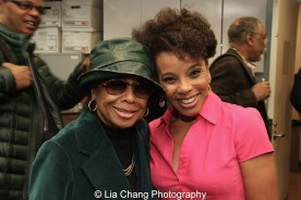 Micki Grant and Debra Walton. Photo by Lia Chang