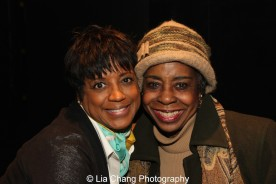 Marva Hicks and Marjorie Johnson. Photo by Lia Chang
