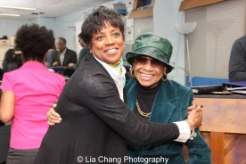 Marva Hicks and Micki Grant. Photo by Lia Chang