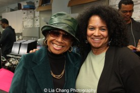 Micki Grant and Julia Lema. Photo by Lia Chang
