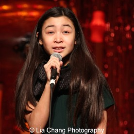 Amaya Braganza at the P.S. 87 Pan Asian Lunar New Year Celebration at the William T Sherman School in New York on January 29, 2016. Photo by Lia Chang