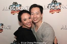 Belinda Allyn and Michael K. Lee. Photo by Lia Chang