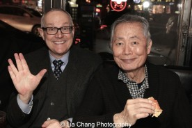 Brad Takei and George Takei. Photo by Lia Chang