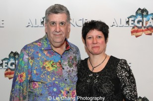 Elliott Masie and Cathy Masie. Photo by Lia Chang