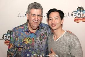 Elliott Masie and Michael K. Lee. Photo by Lia Chang